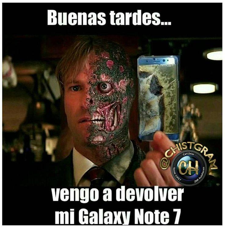 Samsung Galaxy Note7 arma de destrucción masiva...     #moriderisa #cama #colombia #libro #chistgram #humorlatino #humor #chistetipico #sonrisa #pizza #fun #humorcolombiano #gracioso #latino #jajaja #jaja #risa #tagsforlikesapp #me #smile #follow #chat #tbt #samsung #android#note #celular #android #estudiante #universidad