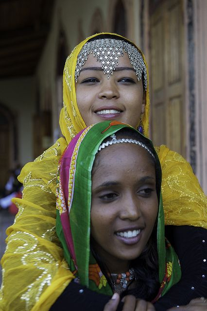 "Africa   ""Colours of Harar . Ethiopia   ©Georges Courreges"
