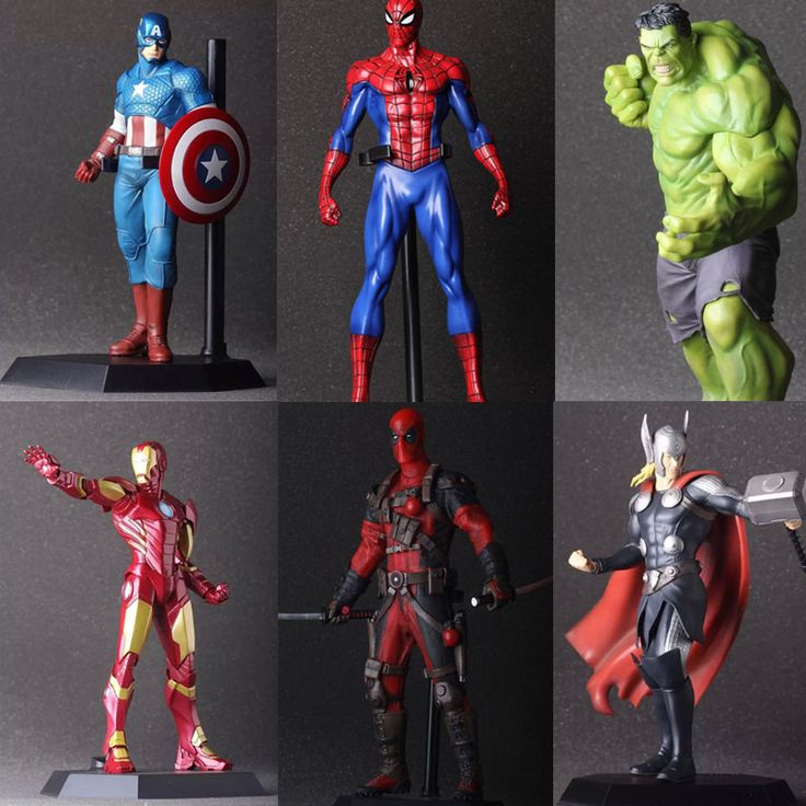 Marvel Actions Figures - 20-24 cm  $39.98 and FREE shipping  Get it here --> https://www.herouni.com/product/the-avengers-hulk-pvc-deadpool-iron-man-action-figure-thor-model-collection-toy-gift-captain-america-ironman-superhero-spiderman/  #superhero #geek #geekculture #marvel #dccomics #superman #batman #spiderman #ironman #deadpool #memes