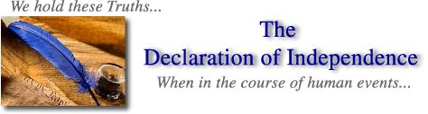 The Declaration of Independence- Information Site & Timeline of Events Leading Up to the Revolutionary War