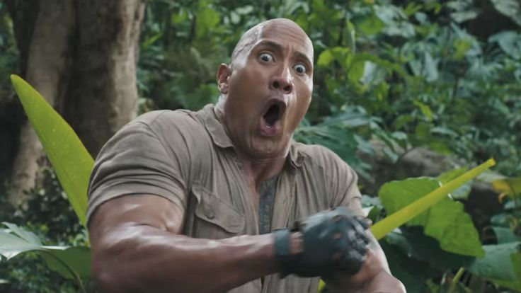 Dwayne 'The Rock' Johnson Can't Help Himself From Cracking Dad Jokes About The Jumanji Trailer #FansnStars