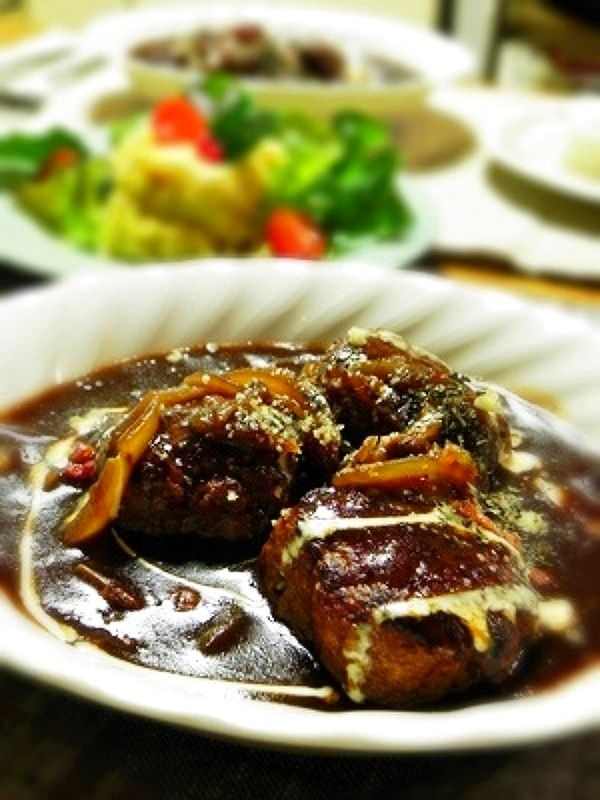煮込みハンバーグ by ひなちゅん   レシピサイト「Nadia   ナディア」プロの料理を無料で検索