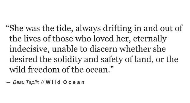 Beau Taplin • Wild Ocean