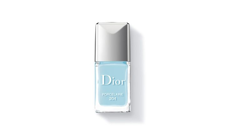 Dior Vernis à ongles Porcelaine, édition Trianon shopping bleu lagon