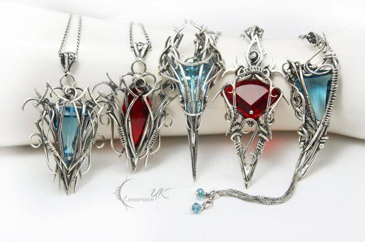Lunarieen UK - necklaces by LUNARIEEN.deviantart.com on @deviantART