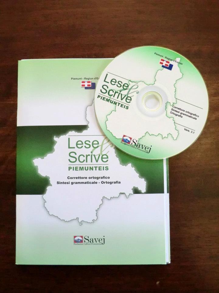 Il correttore ortografico per Microsoft Word per la lingua piemontese http://www.savej.it/Libri/Lese_Scrive_Piemunteis_Correttore_ortografico_per_la_lingua_piemontese_CD/Eandi_Enrico/1000000000009
