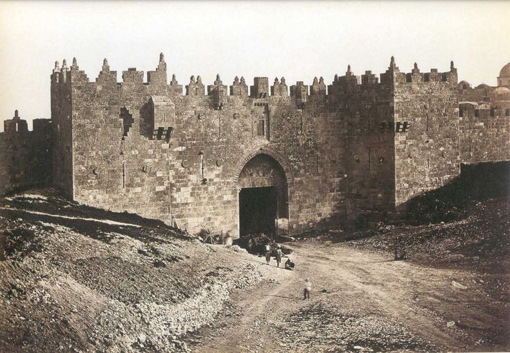 Jerusalem | Jerusalem - القدس الشريف : Damascus Gate (1857)