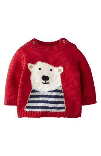 ¿Qué tal un sweater para abrigar a tu bebito en las noches de frío?
