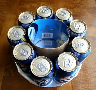 "How to Make an Easy Beer Can Cake - Tap the link to see more awesome stuff! 15% Off with code ""Drink1"""