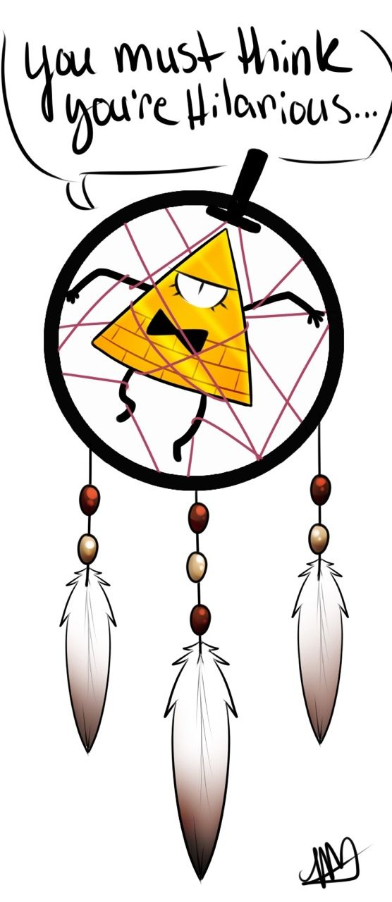Bill Cipher~he could still give dipper WEIRD dreams instead of bad