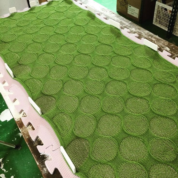 #bubblewrap #scarf #machine #knit with ribber fun and so cool