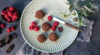 Cheese balls med sjokolade
