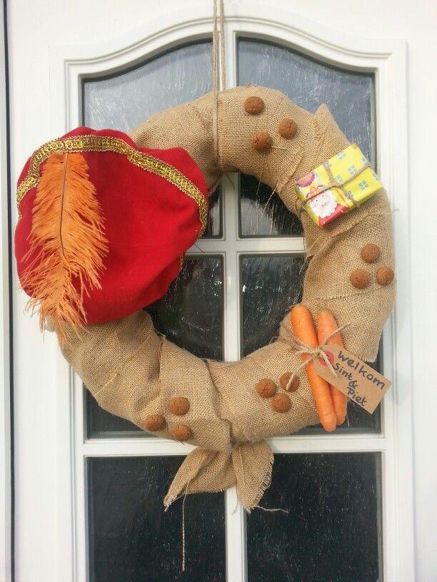 Sinterklaas krans.