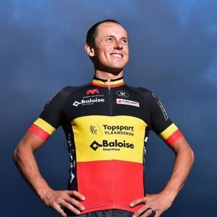 Preben Van Hecke, winner of the 2015 Belgian Championships in his @teamsvb #BelgianChampion #CyclingJersey  ____________________  #TheCyclingJerseys | #CyclingJerseys | #BelgiumJersey | #CyclingKit | #CyclingKits | #BikeKit | #BikeKits | #RoadCycling | #Cycling | #CyclingStyle | #TeamKit   #LeTour | #Giro | #LaVuelta | #UCI | #prebenvanhecke