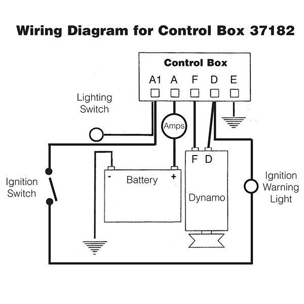Dynamo Regulator Control Box Typ Rb106