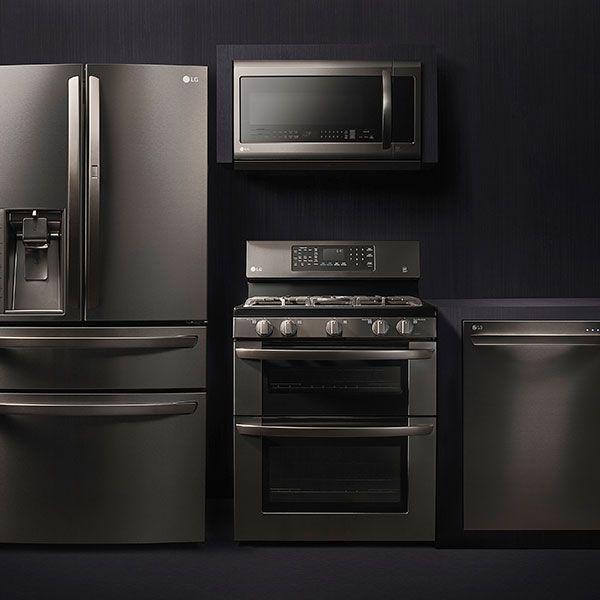 Black Stainless Steel Kitchen Appliances: 203 Best LG Recipes & Kitchen Images On Pinterest