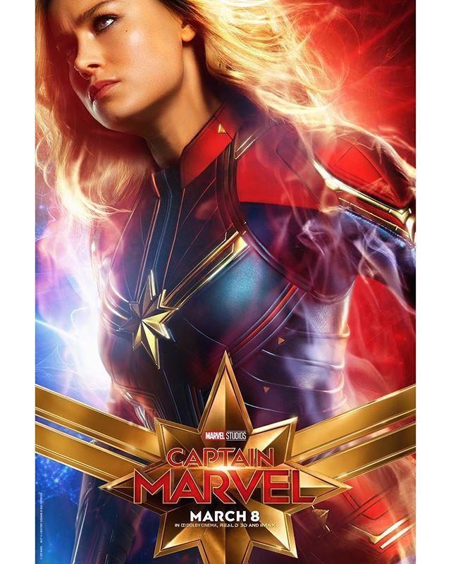 Capita Marvel Marvel Movie Posters Captain Marvel Marvel Films