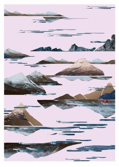 Plakat Fjord