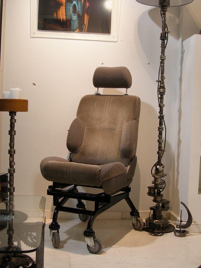 Πολυθρόνα από κάθισμα αυτοκινήτου - Industrial έπιπλα