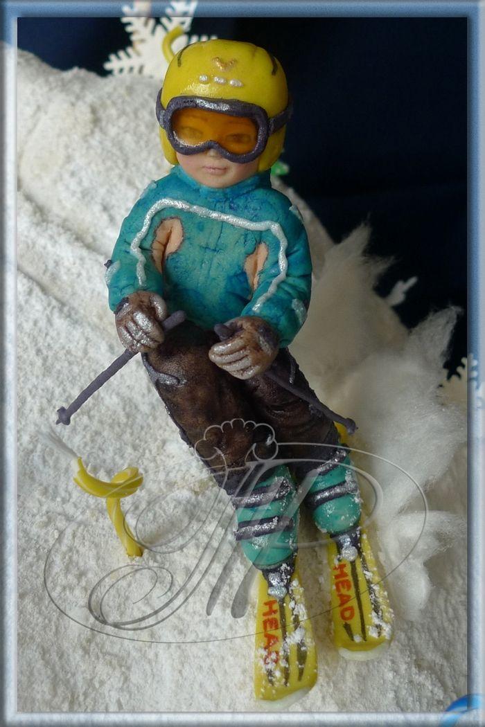 Юному горнолыжнику