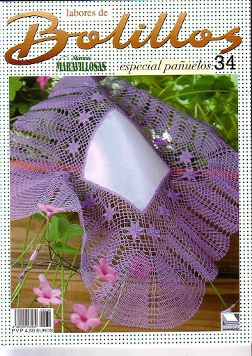 Crochet and Fabric - Several beautiful project ideas!