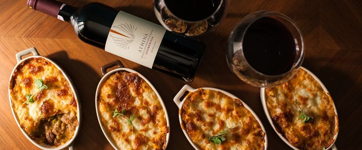 Nomad wine making με μια ενδιαφέρουσα περφόρμανς από τη Γουμένισσα. Ένα κρασί που μας δίνει την ευκαιρία να ανακαλύψουμε το γευστικό βάθος της iconic shepherd` s pie.