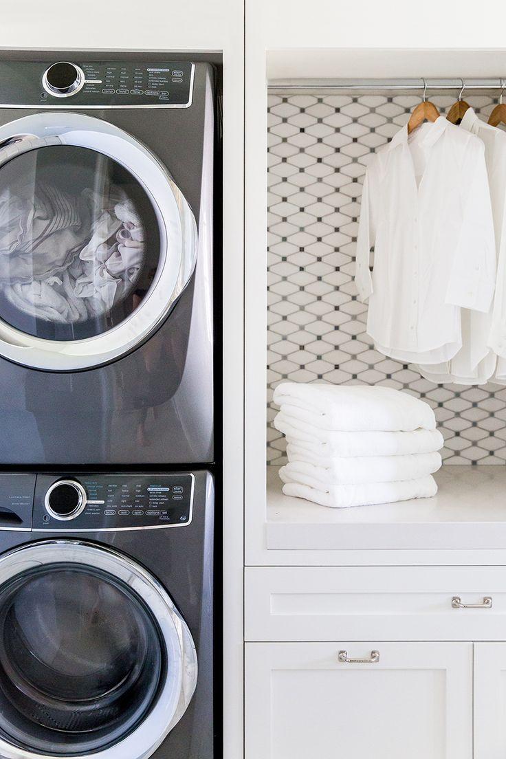 Laundry Room via Emily Jackson / The Ivory Lane