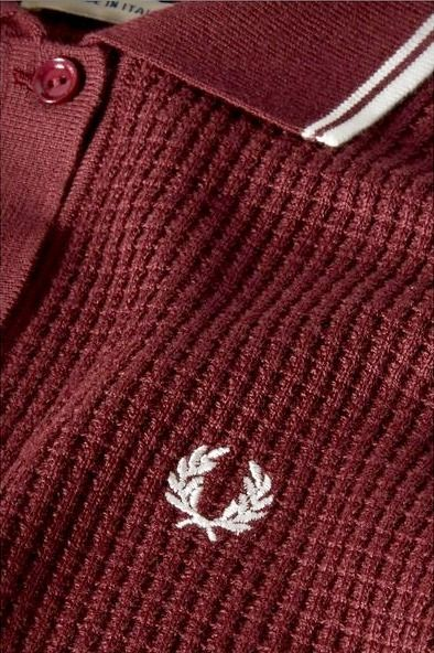 Textured knit Fred Perry.