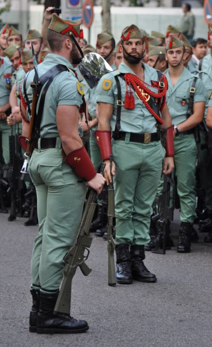 Spanish Foreign Legion soldiers