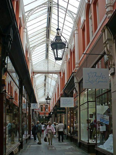 Morgan Arcade, Cardiff, South Wales, UK