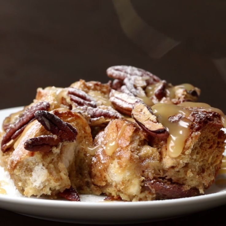 Salted Caramel French Toast Bake