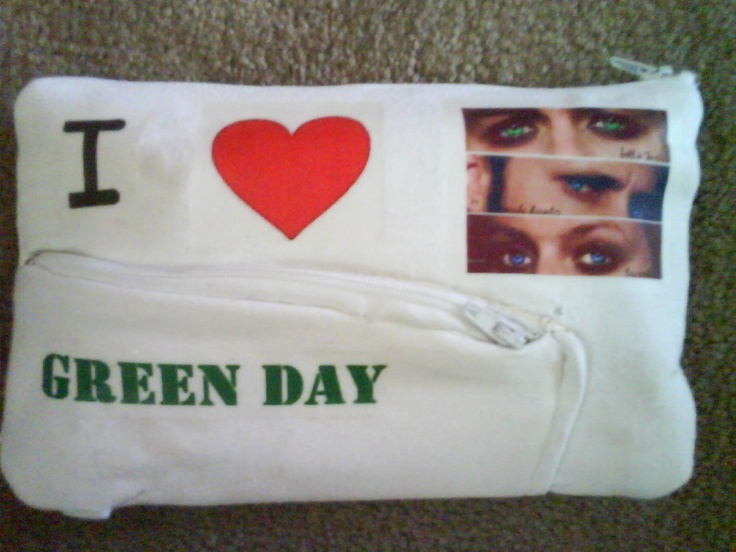 My Green Day Pencil case