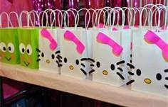 hello kitty birthday party ideas. OMG! I have to find these! All of your gifts will come in one of these bags!
