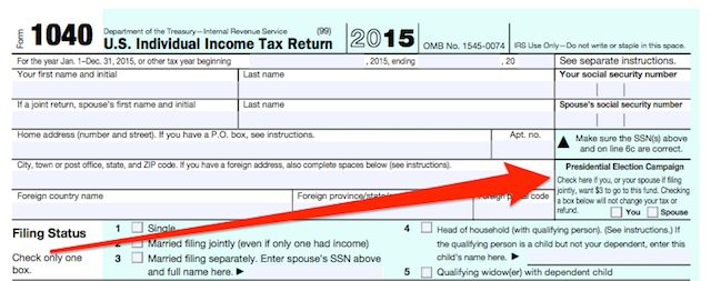 Presidential Campaign Spending & That Checkbox On Your Tax Return