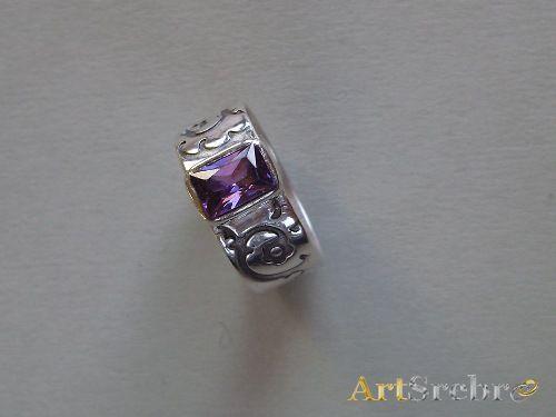 Srebrna biżuteria - pierścionek WYPRZEDAŻ 59, zł