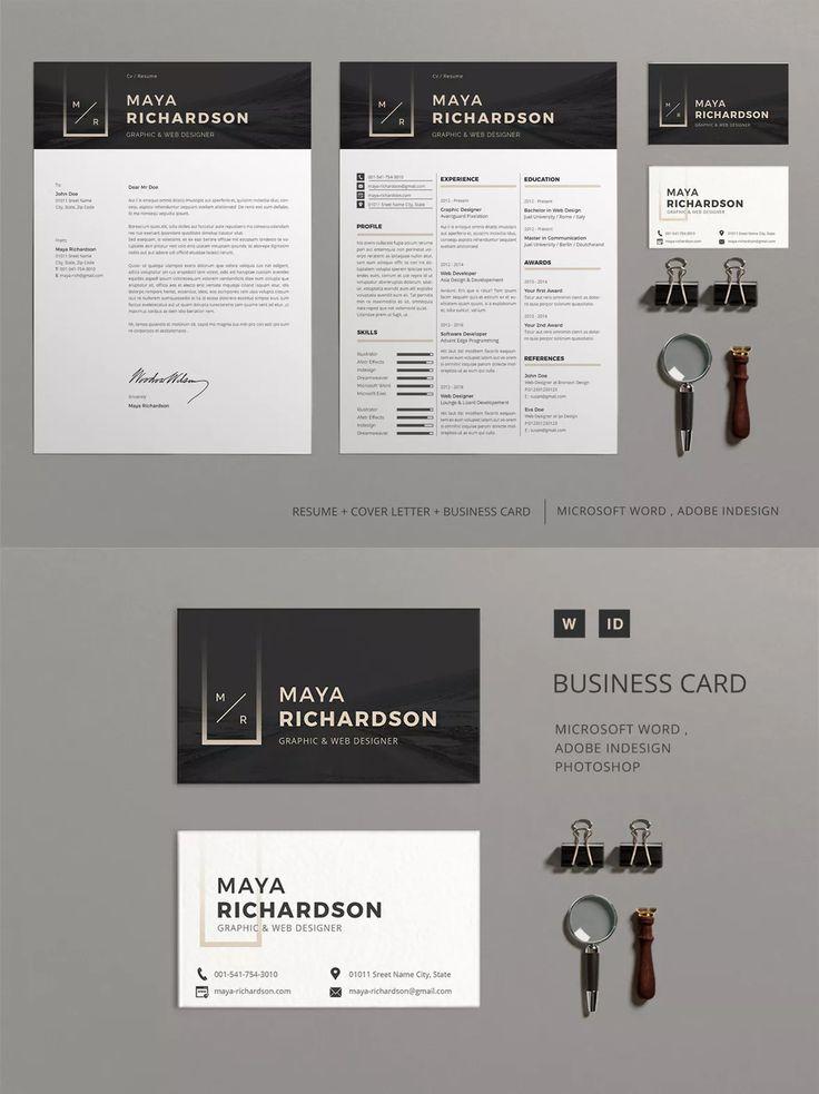 81 best Resume / CV Design Templates images on Pinterest ...