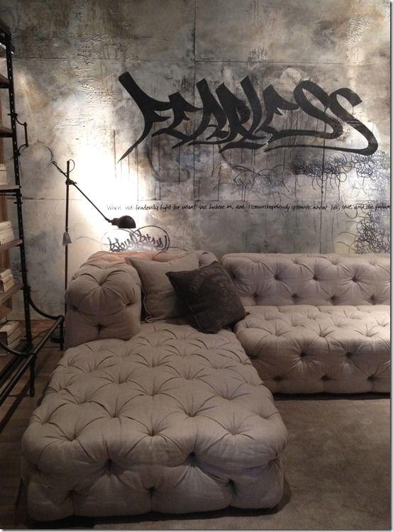 Restoration Hardware couch