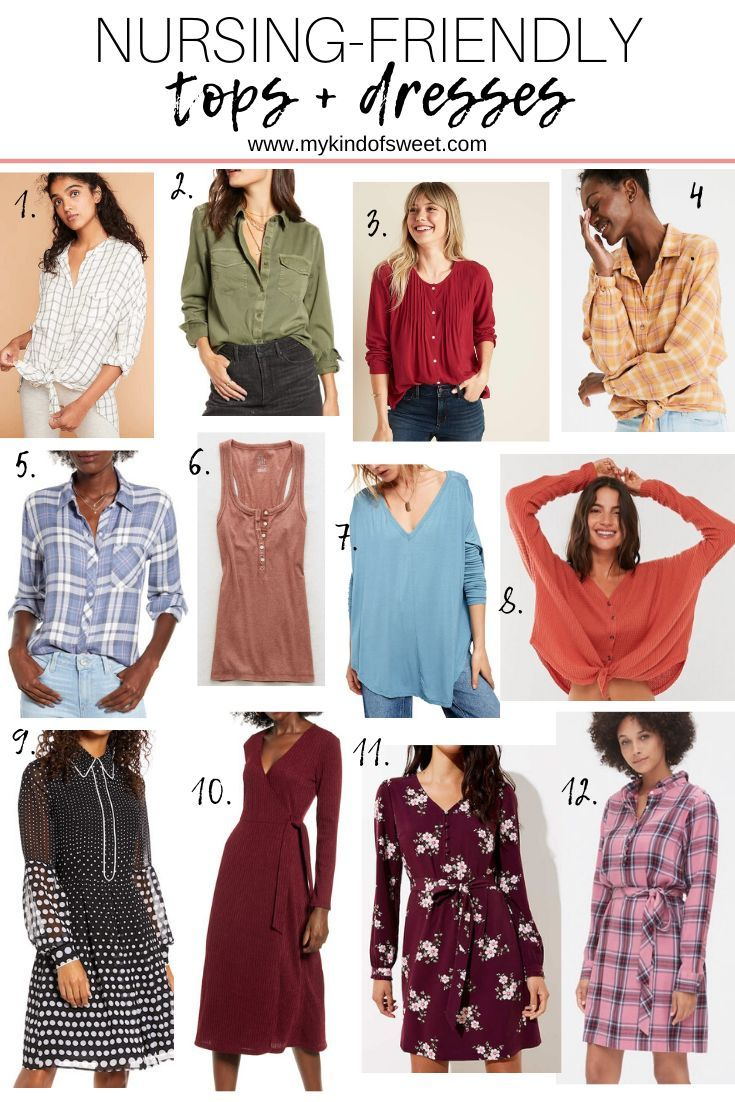 Nursing Friendly Tops And Dresses Outfit Ideas My Kind Of Sweet Breastfeeding Fashion Outfits Breastfeeding Fashion Mom Fashion Blogger