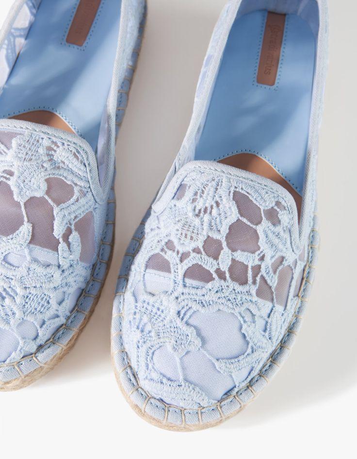 Stradivarius Crochet espadrilles