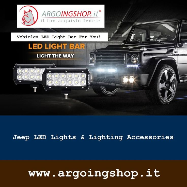 ✔ Jeep LED Lights & Lighting Accessories  🚍 The ArgoingShop offers light bars, flood LED light bar, LED driving lights, headlights, tail lights, fog lights & lighting accessories for all Jeep vehicles in Italy & Europe Market.  ✔ Visit Shop Here: www.argoingshop.it  . . . . . . #LEDLights #LED #Jeep #SpotLightBars #LightBar #LEDLightBar #Headlights #TailLights #FogLights #ArgoingShop #Italy #Europe