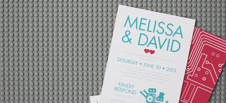 Ready To Go, Print-it-yourself Wedding Stationery. Invitations, save the dates, thank you cards, etc