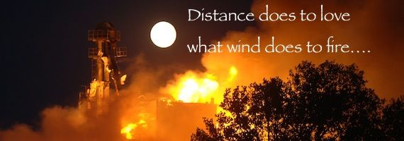Military Wife Quotes: Distance does to love what wind does to fire | SpouseBUZZ.com
