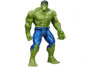 Boneco Avengers Hulk - Hasbro.  Linha Titan Hero Series. Material Plástico. Idade recomendada +4.