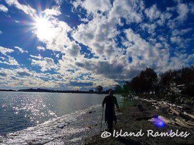 Island Rambles: Sky Water Earth