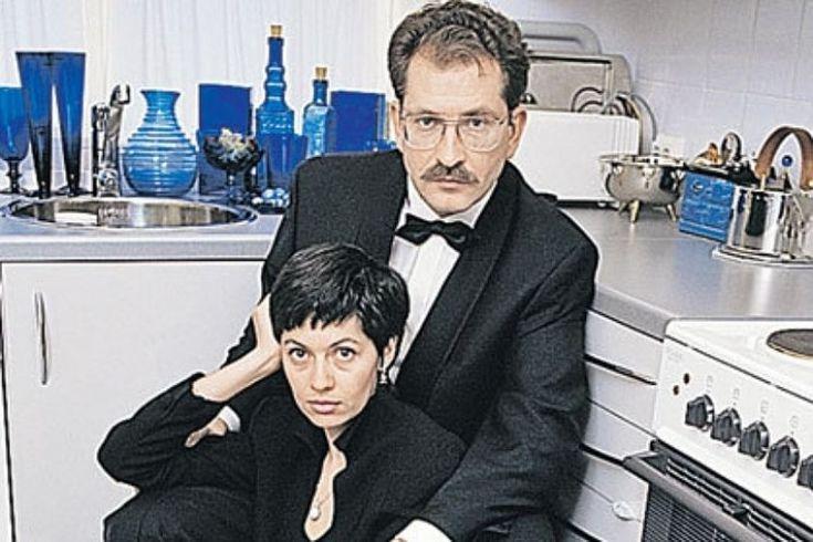 Влад  Листьев  и  Альбина  Назимова  (третья  жена  Влада).
