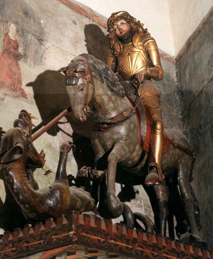 Statue of 'Sv. Juraj' / St. George, Levoca, Slovakia, c.1515