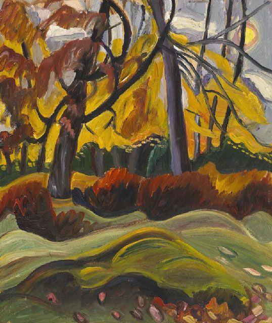 prudence heward | Autumn Landscape - Prudence Heward - WikiPaintings.org