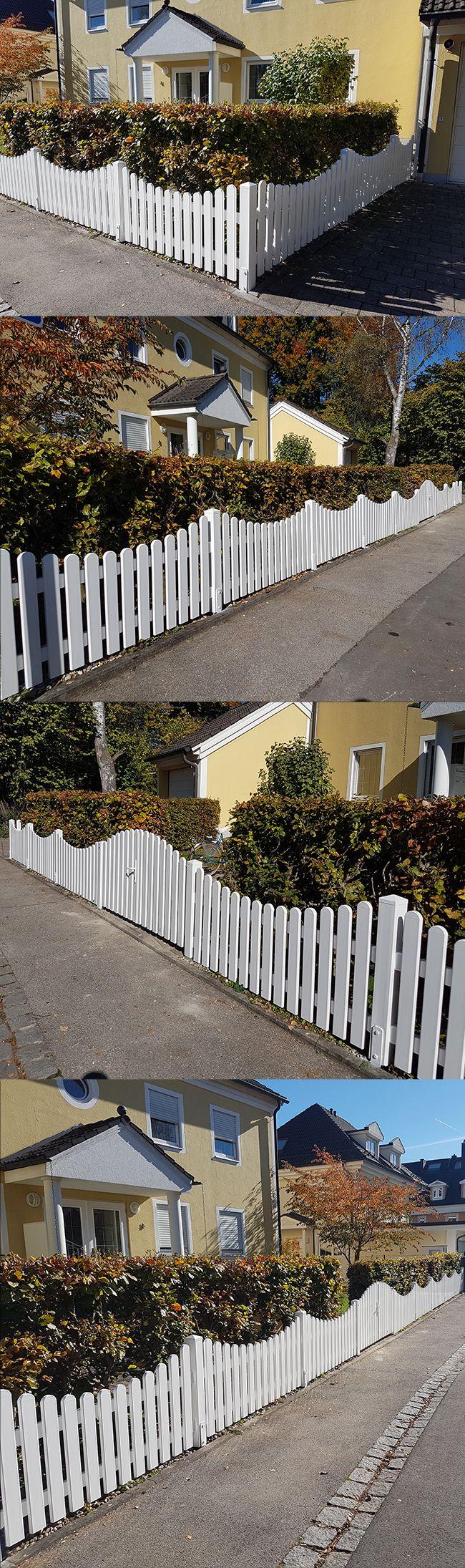 Die besten 25+ weißer Zaun Ideen auf Pinterest | Lattenzäune ...