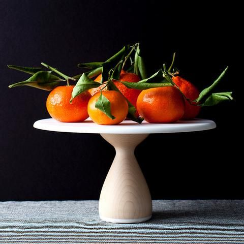 Hardwood Maple Cake Stand: Thick Base by AHeirloom