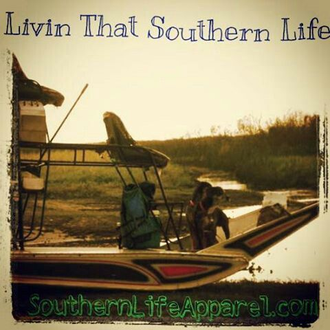 Airboat living, Southern Life Apparel,LLC